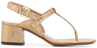L'Autre Chose T-strap sandals