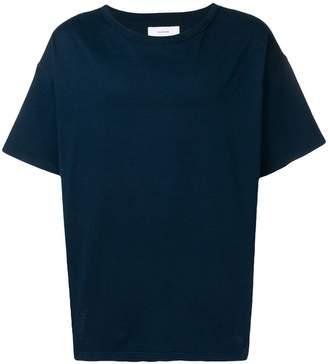 Facetasm oversized stripe T-shirt
