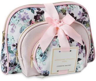 Adrienne Vittadini Celebrate Shop Set of 3 Dome Shaped Cosmetic Bags