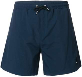 McQ Swallow bagde swim trunks