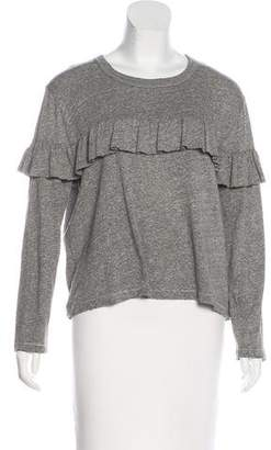 The Great Knit Ruffle Top