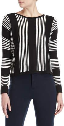 philosophy Vertical Stripe Sweater