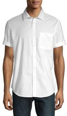 Calvin Klein Jeans Cotton Short Sleeve Sport Shirt