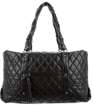 Chanel Chanel Large Quilted Lady Braid Tote