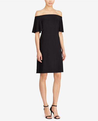 American Living Jersey Off-The-Shoulder Dress $69 thestylecure.com