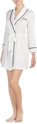 Kate Spade Mrs Charmeuse Short Robe