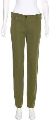 Plein Sud Jeans Mid-Rise Straight-Leg Pants
