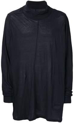 Rick Owens sheer rip detail T-shirt