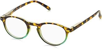 Peepers Unisex-Adult Book Club 934300 Round Reading Glasses