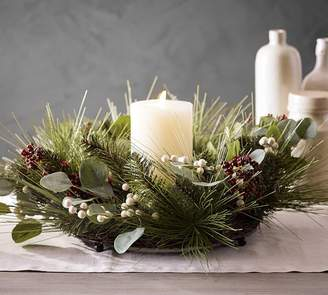 Pottery Barn Holiday Berry Candle Tray