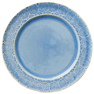 Anthropologie Old Havana Dinner Plate, Blue, Dia.29.3cm
