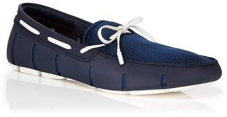 Swims Lace Boat Shoes $159 thestylecure.com