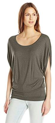 ff7823a0481d5e Paper Tee Women s Scoop Neck Dolman Sleeve Knit Top