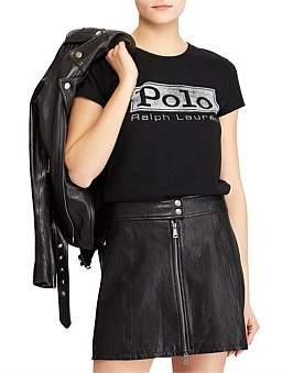 Polo Ralph Lauren Logo Jersey Graphic T-Shirt