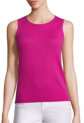 Saks Fifth Avenue Sleeveless Cashmere Shell