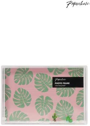 Womens Paperchase Cactus Float Frame 4x4 - No Colour
