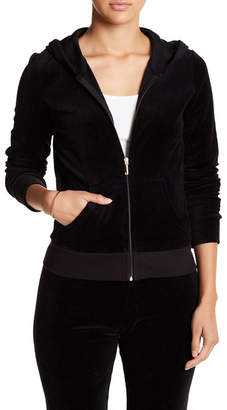 Juicy Couture Velour Robertson Hoodie $44.97 thestylecure.com