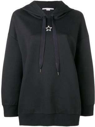 Stella McCartney star detail hoodie