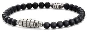 David Yurman Davidyurman Southwest Bead Bracelet In Black Onyx