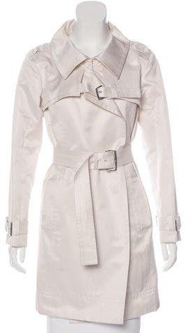 CelineCéline Knee-Length Belted Coat