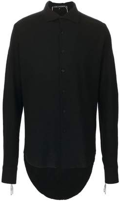 Cedric Jacquemyn high low hem shirt