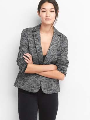 Gap Marled double-knit blazer