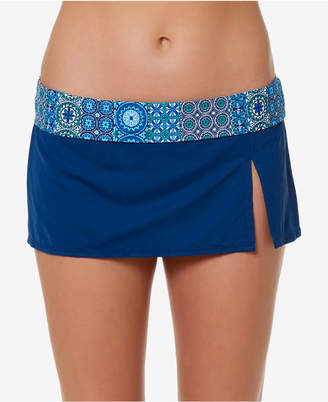 Bleu by Rod Beattie Printed Swim Skirt Women Swimsuit