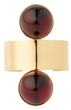 Marni Rigid Mod Double Sphere Cuff - Womens - Red