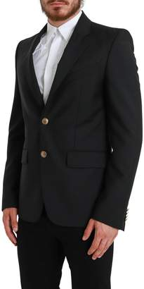 Givenchy Wool Jacket With Gold Buttons