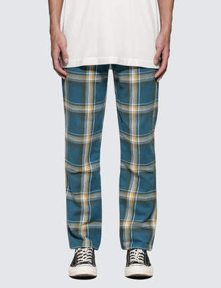 Liam Hodges Slim Tartan Trousers