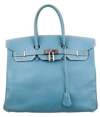 Hermes Blue Top Zip Bags For Women - ShopStyle Australia 3449f7ebad72c