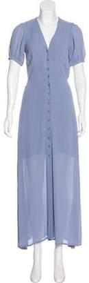 Reformation Short Sleeve Maxi Dress