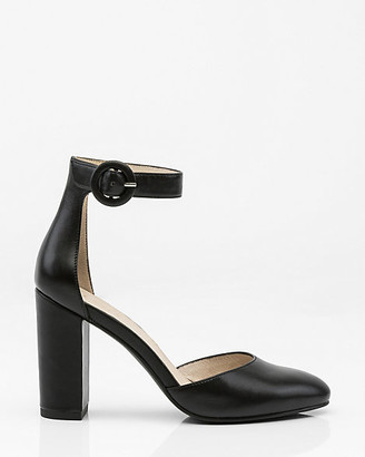 Le Château Leather Ankle Strap Pump