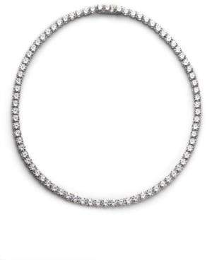 Adriana Orsini Sterling Silver Tennis Necklace