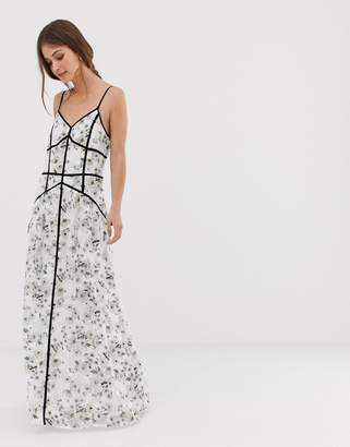 We Are Kindred Madison caged maxi dress