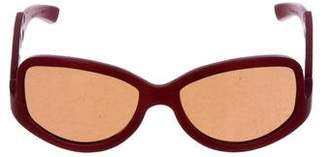 Gold & Wood Wooden Tinted Sunglasses