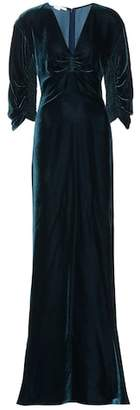 Stella McCartney Velvet maxi dress
