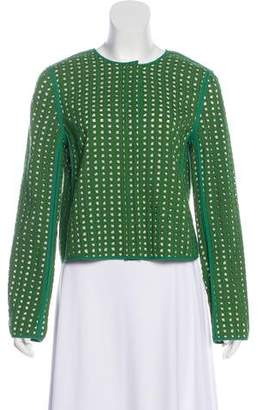 Diane von Furstenberg Dennett Embroidered Jacket