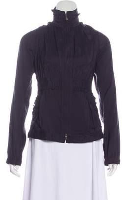 Saint Laurent Mock Neck Casual Jacket