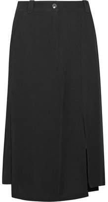 McQ Decon Twill Midi Skirt - Black
