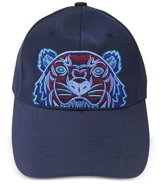 Kenzo Navy Blue Tiger Canvas Cap