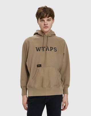 Wtaps Design Hooded Sweatshirt in Greige