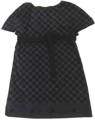 Nicole Farhi Navy Cotton - elasthane Dress for Women