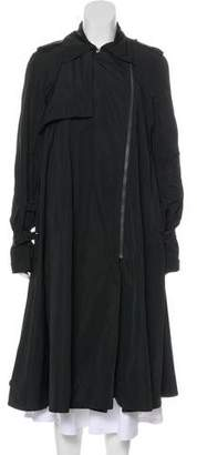 Lanvin Long Trench Coat
