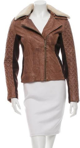 Doma Doma Quilted Leather Jacket