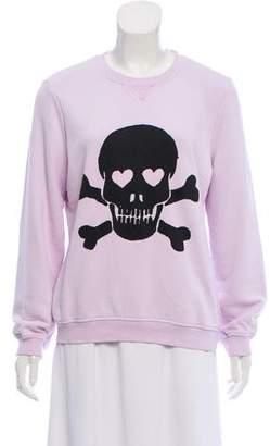 Zoe Karssen Skull Printed Sweatshirt