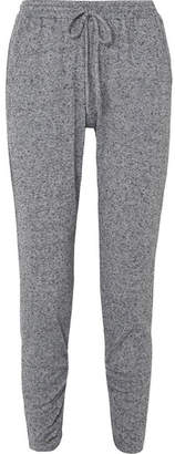 Eberjey Bobby Camp Tapered Jersey Track Pants - Gray