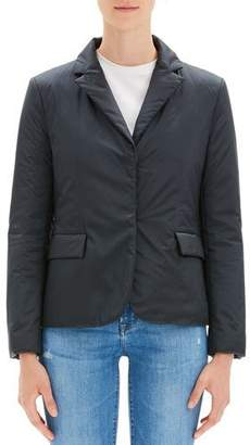 Theory Button-Front Blazer Puffer Jacket
