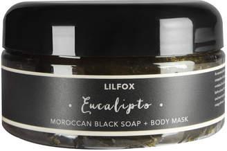 Lilfox Euclipto Moroccan Black Soap & Body Mask