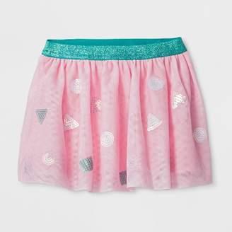 Cat & Jack Toddler Girls' Sequin Tutu Skirt Pink